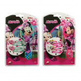 Hair Brush With Clips Minnie (2 Designs)