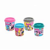 Single Dough Pot 4oz Minnie-Assorted